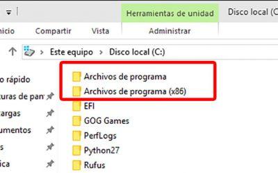 """¿Por qué Windows de 64 bits necesita 2 carpetas de """"Archivos de programa""""?"""